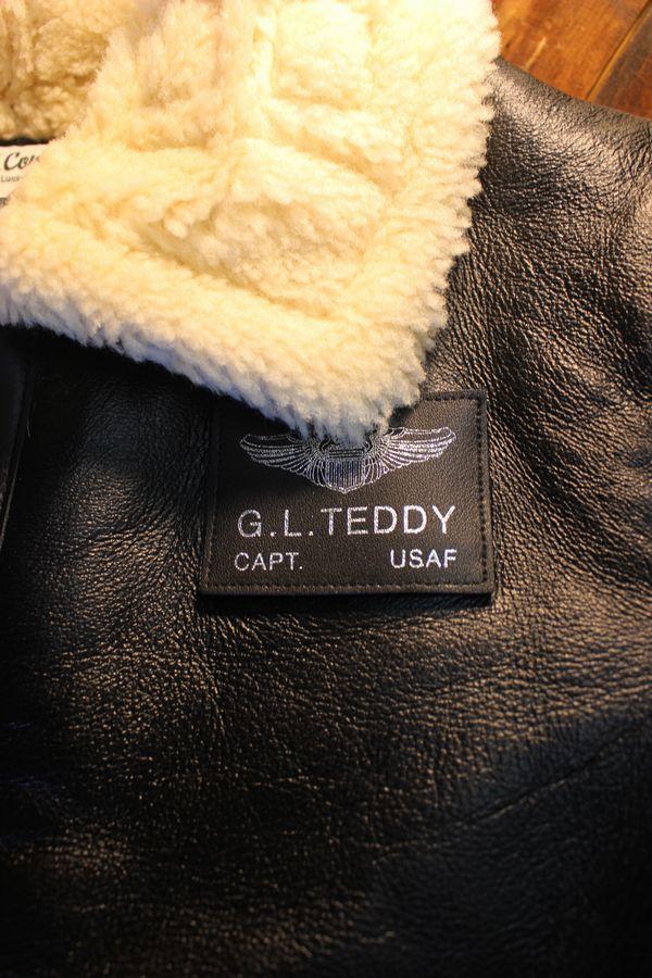 TEDCOMPANY エフ商会 TEDMANテッドマン 限定販売 TDB-3-011 リアルムートン フライトジャケット 羊革