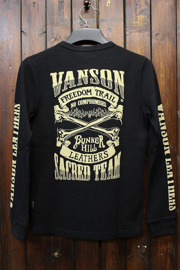 VANSON バンソン 長袖Tシャツ サマールロンT NVLT-707