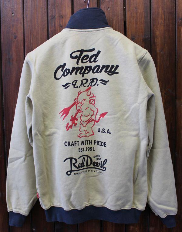 エフ商会 TEDMAN(テッドマン) TEDCOMPANY TDSZ-145 ジップアップスウェット