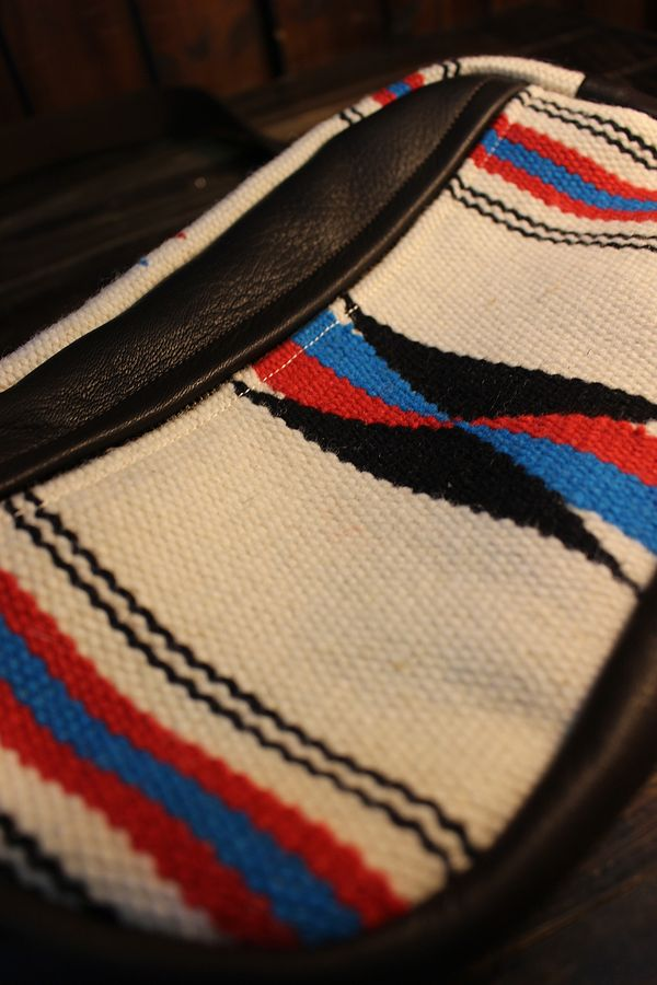 DIN MARKET ORTEGA'S DAY TRIP BAG オルテガズ デイ トリップバッグ ブラウンベース/アイボリー系