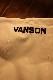 VANSON バンソン NVSZ-2102 三層ストレッチパーカー  高耐水・高撥水加工 オフホワイト