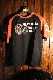 エフ商会 PEAK'D YELLOW(ピークドイエロー) PYT-207 コットンTシャツ CHOPPER ハーレー