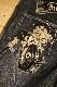 INDIAN MOTOCYCLE×BETTY BOOP インディアンモトサイクル×ベティー・ブープ 刺繍ジーンズ bbi-924 インディゴデニム(ユーズドウォッシュ)