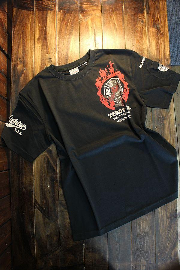 エフ商会 TEDCOMPANY TEDMAN(テッドマン) TDSS-516 SIGNALコラボ 消防士 ブラック