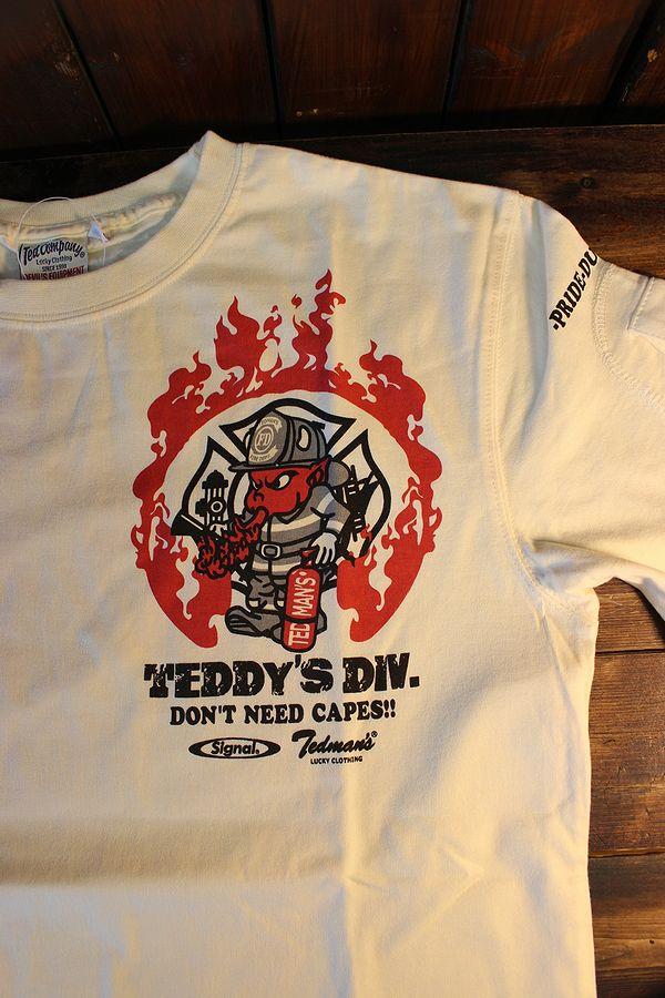 エフ商会 TEDCOMPANY TEDMAN(テッドマン) TDSS-516 SIGNALコラボ 消防士 オフホワイト
