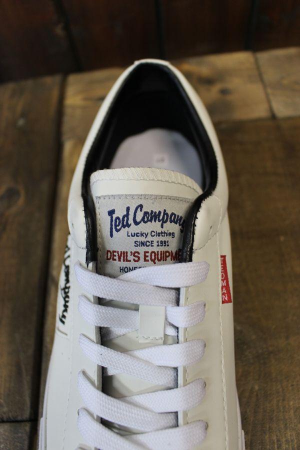 エフ商会 テッドマン TEDCOMPANY TEDMAN'S RDS-400 DEVIL SNEAKER ホワイト