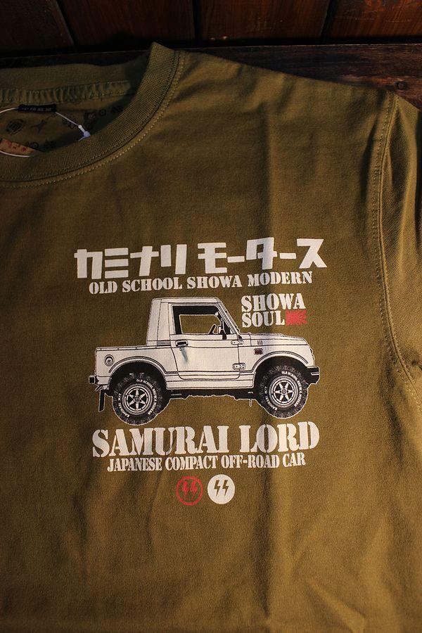 エフ商会 カミナリモータース KMT-209 サムライロード ジムニーJA71 カーキ