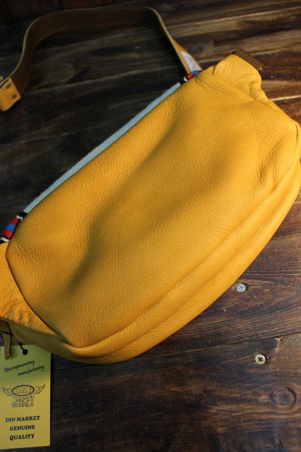 DIN MARKET ORTEGA'S DAY TRIP BAG オルテガズ デイ トリップバッグ オールドゴールドベース/アイボリー系