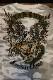 VANSON バンソン NVLT-2114 天竺ロンTee イーグル スカル 刺繍長袖Tシャツ ホワイトカモ