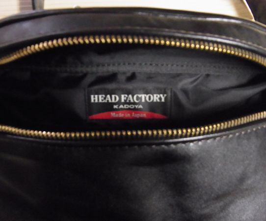 カドヤ(KADOYA)  HFG/SHOULDER BAG-STD ヘッドファクトリーショルダーバッグ・スタンダード
