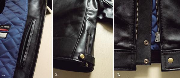 カドヤ(KADOYA) MERIDEN TROPHY/MODEL-0 純国産 トロフィーモデル0 ヴィンテージステア 革ジャン レザージャケット
