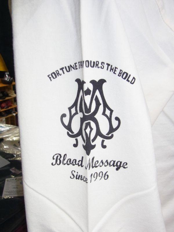 エフ商会 BLOOD MESSAGE BLLT-880 ロングスリーブTシャツ 長袖Tシャツ ロンT