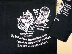 エフ商会 BLOOD MESSAGE BLLT-140 ロングスリーブTシャツ 長袖Tシャツ ロンT ブラック/38
