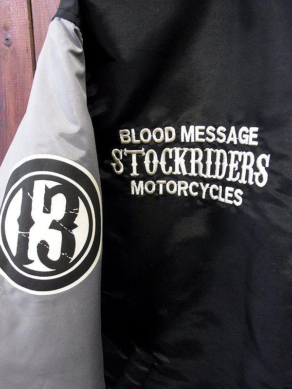 BLOOD MESSAGE(ブラットメッセージ) BLFRJ-100  ミドル丈ナイロンキルティングジャケット ファラオコート