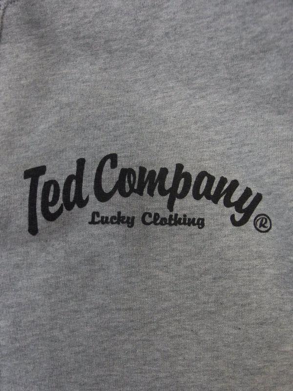 エフ商会 TEDMAN(テッドマン) TEDMAN TDSP-144 スウェットパーカ アッシュ