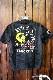 VANSON×Looney Tunes バンソン×ルニーテューンズ  ltv-810 半袖Tシャツ  トゥイーティ ブラックカモ