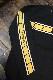 エフ商会 カミナリ KMLT-195 STROBE SHOWA STYLE ヤマハ RD400 RD250 長袖Tシャツ ブラック