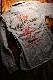 エフ商会 TEDMAN(テッドマン) TSHB-1600 Lucky Red Devil チェーン刺繍仕様 シャンブレーシャツ L.BLUE