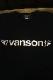 VANSON バンソン NVLT-2124 ベア天ロンTee ウイングスター ブラック/ピンクゴールド