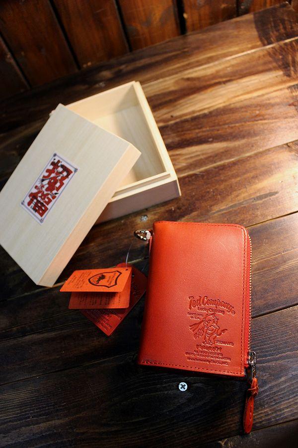 エフ商会 TEDMAN(テッドマン) TDW-260 ラウンドジップショートウォレット レッド 財布