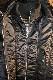 VANSONバンソン NVJK-2003 HI-NECK MA-1 フライトジャケット ブラック