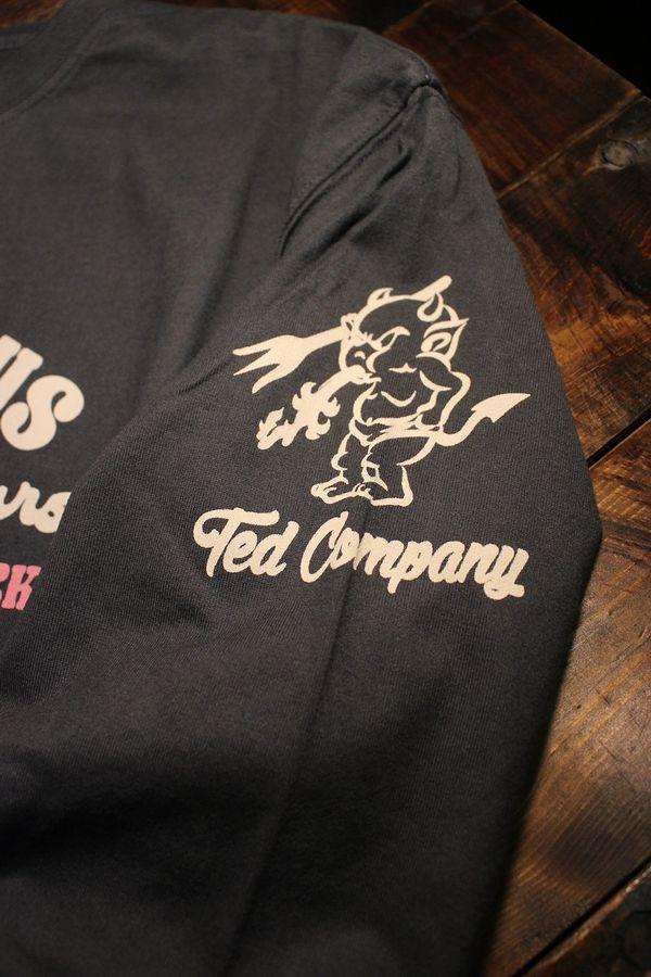エフ商会 TEDMAN テッドマン TDLS-333 レストラン 長袖Tee ロンTee ネイビー