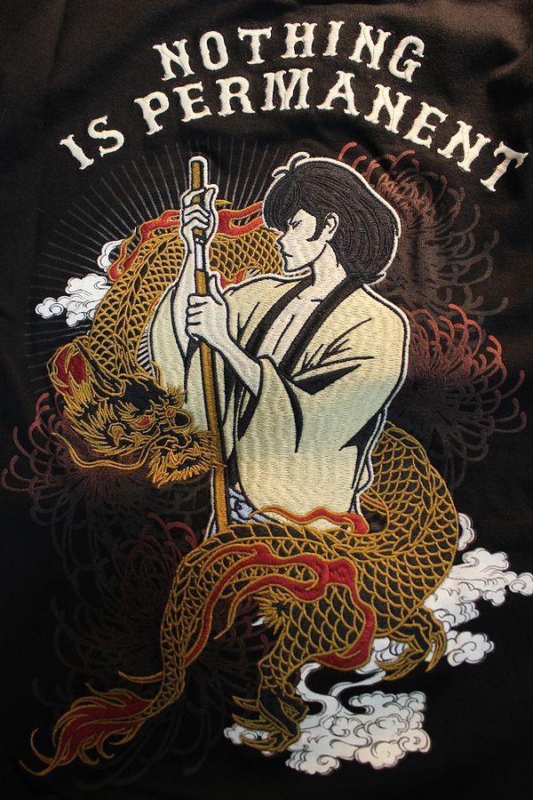 ルパン三世  LU3B-2002 天竺ロンTee 長袖Tシャツ 五右衛門