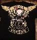 VANSON×CROWS×WORST 武装戦線 コラボ CRV-814 天竺半袖Tee Tシャツ