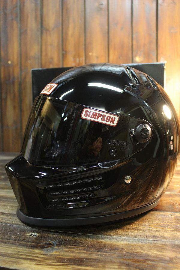 ☆シールドサービス☆シンプソン(SIMPSON) ヘルメット BANDIT PRO バンディット プロ ブラック
