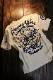 エフ商会 爆烈爛漫娘 バクレツ RMT-314 雲中供養猫  Tシャツ オフホワイト