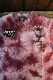 VANSON×LOONEY TUNES バンソン コラボ LTV-2108 天竺半袖Tee ロードランナー 刺繍Tシャツ レッドタイダイ