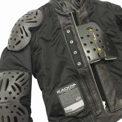 KADOYA(カドヤ) NA-SPARTACUS シングルライダース レザージャケット 革ジャン ブラック