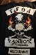 VANSON×CROWS×WORST 武装戦線 コラボ CRV-2103 天竺ロンTee デスラビット 長袖Tシャツ ウォバッシュ