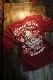 エフ商会 爆烈爛漫娘 バクレツ RMT-314 雲中供養猫  Tシャツ ワイン