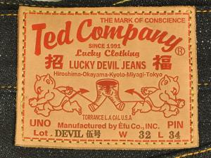 エフ商会 TEDMAN(テッドマン) DEVIL 5号 ジーンズ