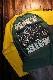 PEAK'D YELLOW ピークドイエロー PYLT-223 BIKE ロンTee 長袖Tシャツ ポニーテール Z1000J KR1000 1135R グリーン/イエロー
