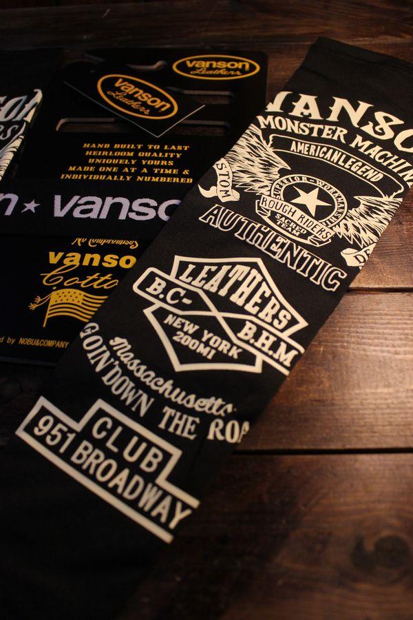 VANSON バンソン NVAS-2102 ドライアームシェードロング イーグル ブラック