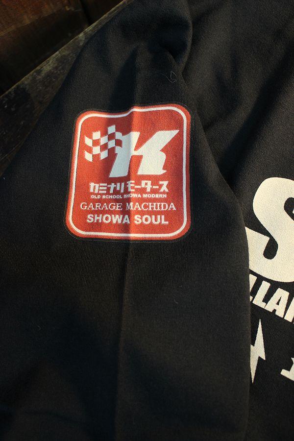 エフ商会 カミナリ KMLT-213 セドリック・グロリア330 長袖Tシャツ ロンTee ブラック