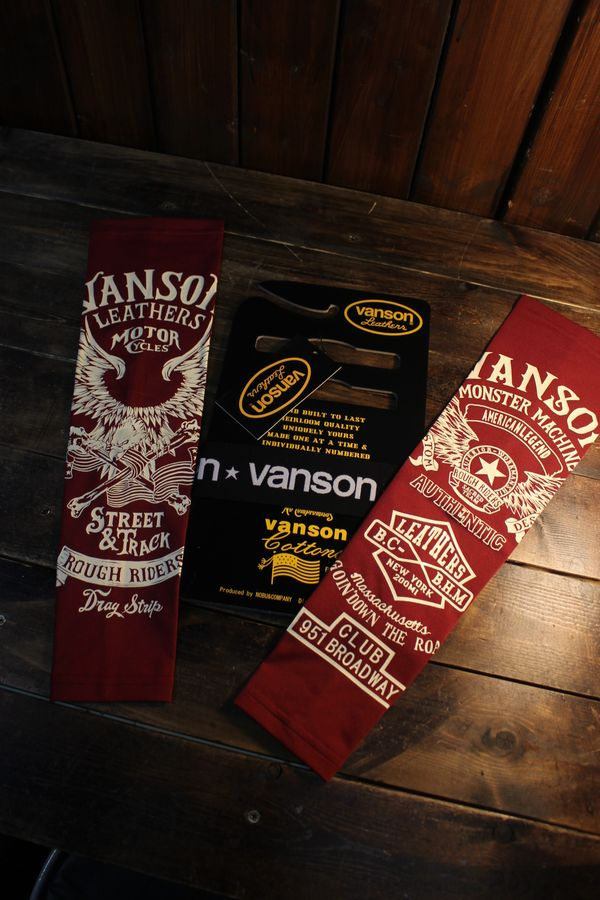 VANSON バンソン NVAS-2102 ドライアームシェードロング イーグル ウイング ワイン