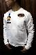 VANSON×LOONEY TUNES バンソン コラボ ポケット付き天竺ロンT 長袖Tee LTV-803 オフホワイト