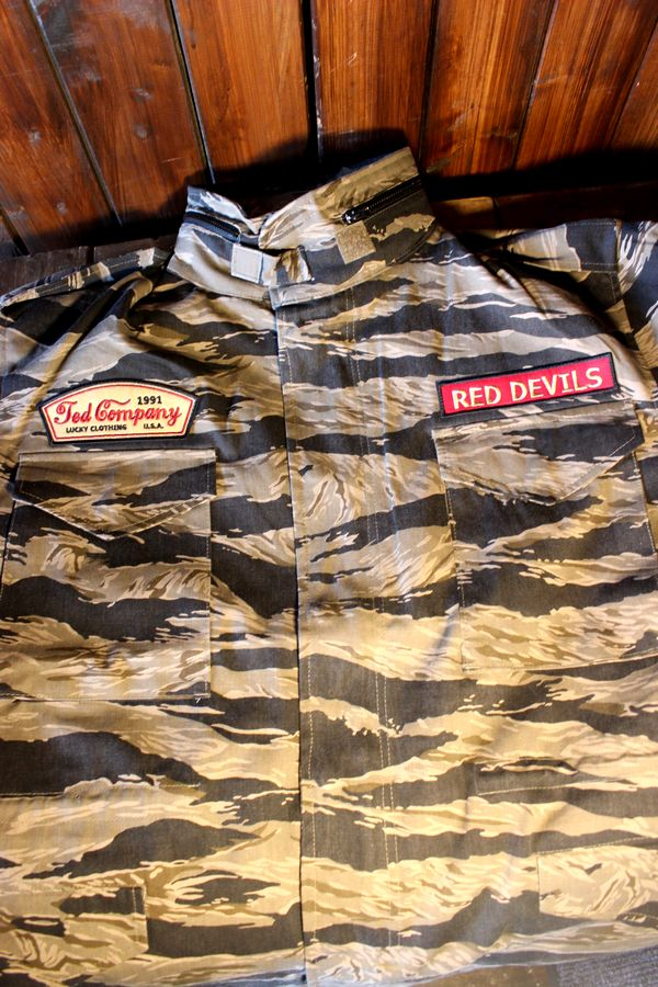 エフ商会 TEDCOMPANY テッドマン TEDMAN TM65-020 M-65 フィールドジャケット