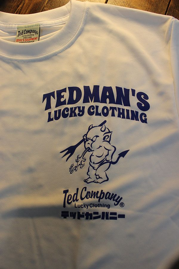 エフ商会 TEDMAN テッドマン TDRYT-1100 シルキードライTシャツ ホワイト