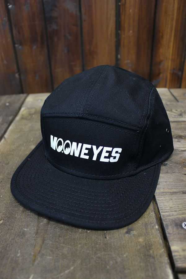 MOONEYES MOON(ムーン) CM-136 キャンパーキャップ ブラック