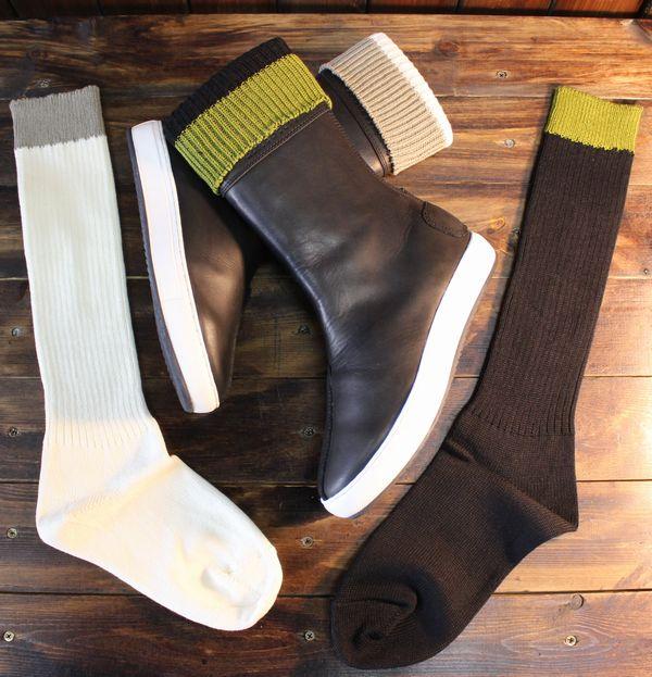 KADOYA(カドヤ) ALTER KEIS(アルタケイス)  BOOTS SOCKS ブーツソックス ブーツ専用靴下 日本製