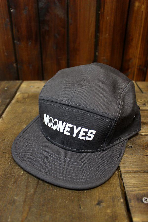 MOONEYES MOON(ムーン) CM-136 キャンパーキャップ グレー