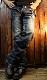 INDIAN MOTOCYCLE×BETTY BOOP インディアンモトサイクル×ベティー・ブープ 刺繍デニムパンツ BBI-831 インディゴ