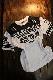 エフ商会 カミナリ KDRYT-02 TEDMAN×カミナリ×BANDOH トリプルコラボ  ドライTシャツ オフホワイト