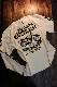 エフ商会 カミナリ KMLT-215 CB750four k0型 長袖Tシャツ ロンTee オフホワイト