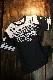 エフ商会 カミナリ KDRYT-02 TEDMAN×カミナリ×BANDOH トリプルコラボ  ドライTシャツ ブラック