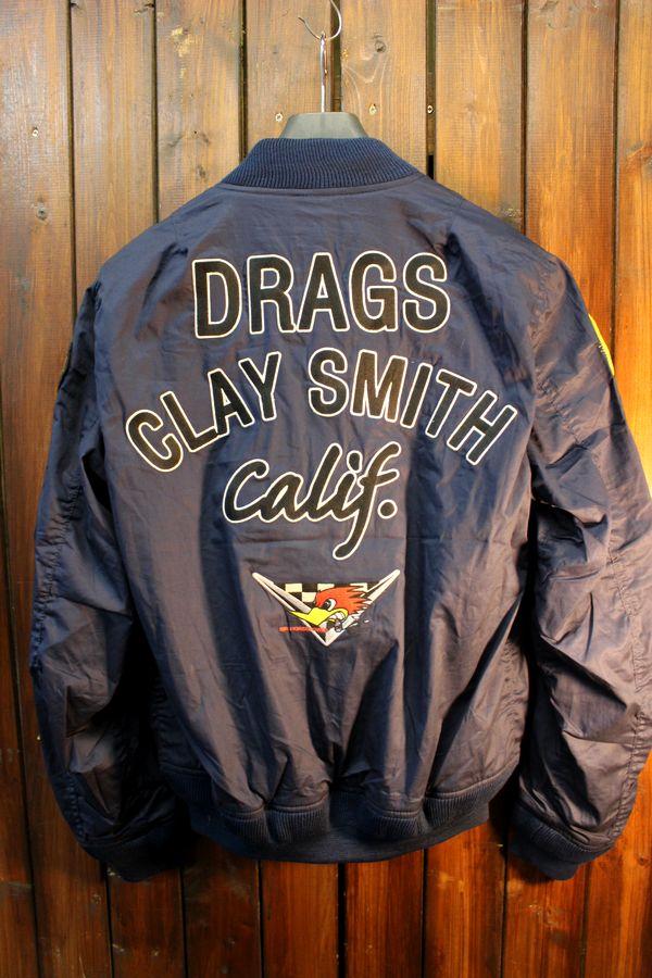 CLAY SMITH(クレイスミス) CSY-8302 TOMDOGS MA-1スタイル コットンジャケット